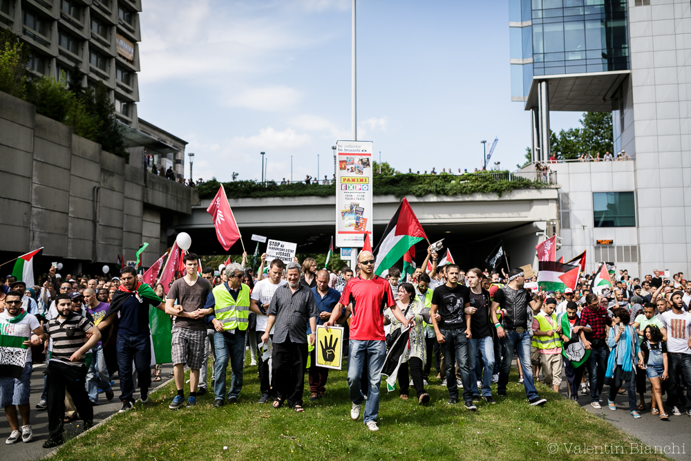 146_Gaza_Demonstration_Brussels