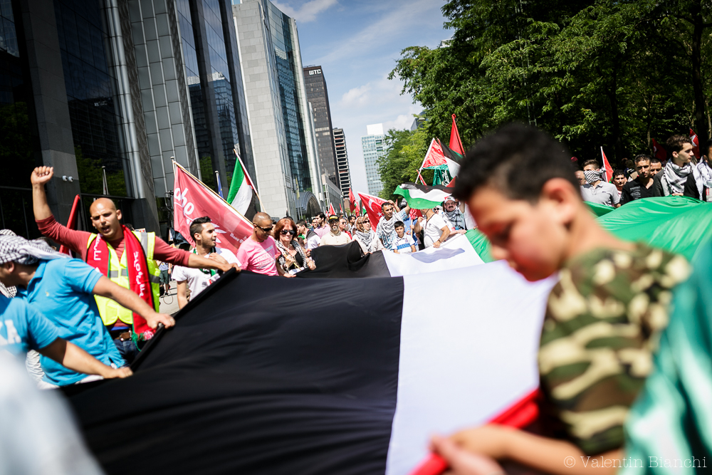 17_Gaza_Demonstration_Brussels
